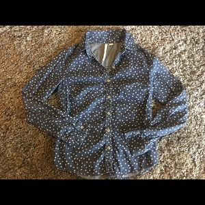 Lc Lauren Conrad Heart Button Up